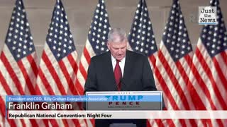 Franklin Graham Prays before the Republican National Convention