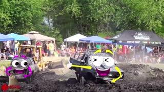 Amazing Dangerous Idiots Dump Trucks | Off Road Monster Truck Driving Fails | Woa Doodles