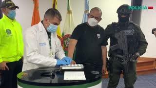 [Video] Tras su captura, alias Otoniel es trasladado a Bogotá