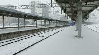 Hokuto leaving the main station in Hakodate