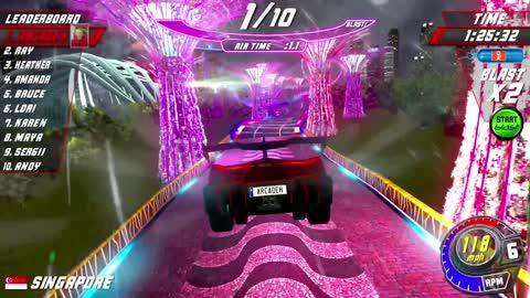 Cruis'n Blast Arcade by Raw Thrills - Full Playthrough, direct capture