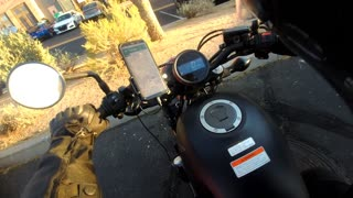 Postmates first motorcycle experience