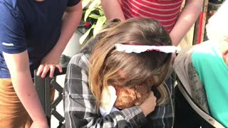 Daughter Tears Up Over Precious Birthday Present