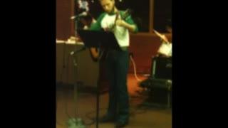 Michael Singing at Christian gathering