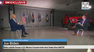 Biden admits Trump's U.S.-Mexico-Canada trade deal 'better than NAFTA'