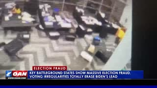 Key battleground states show massive election fraud