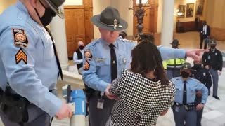 Media SILENT as Leftists Storm Georgia Capitol