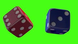 Casino Green Screen Effect Video