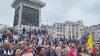 England Protests 7-24-21 Against Vaccine Passports