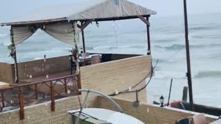 Gaza rains