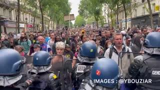 Paris Protest Against Mandatory Vaccines