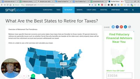 10 Worst States For Retired TaxPayers