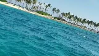 Sounds of ocean breeze in Nassau Bahamas