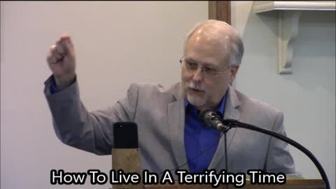 How To Live In A Terrifying Time