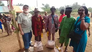 Giving Our Village Chiefs Gifts For Christmas 2018