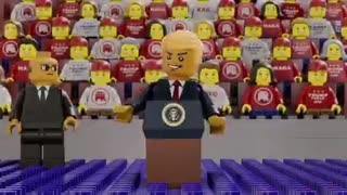 President Trump's lego video