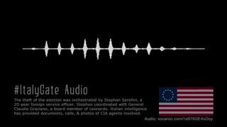 ItalyGate - Audio File for Maria Zack Interview
