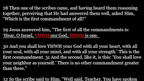 YHWH most High God