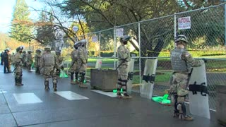 National Guard, WSP troopers guard state capitol ahead of legislative session