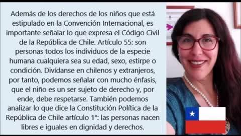 """PSICÓLOGA CHILENA FRANCISCA PIZARRO """"DEFENDER LOS DERECHOS DE LOS NIÑOS"""""""