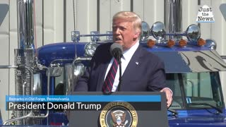 Trump in Pennsylvania speech paints grim picture of America under a Biden presidency