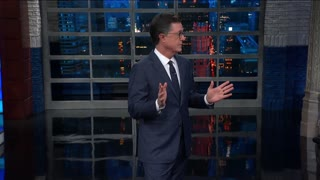 Colbert's homophobic joke about Trump, Putin