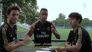 Ask Kubo, Odriozola & Mariano | Real Madrid who supports Lebron James
