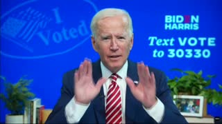Joe Biden Admitting Voter Fraud!!!