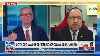 "Goya CEO BLASTS Politically Motivated Shutdowns ""It Killed Our Spirit"""