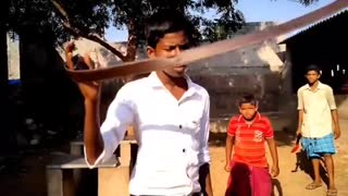 Funny film video, action movie.