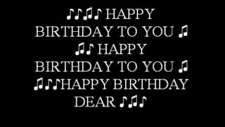 Your Birthday Song