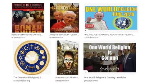 SHOULD RELIGIONS UNITE TO FIGHT GLOBAL TYRANNY?