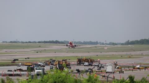 Southwest Flt 1280 departing St Louis Lambert Intl - STL