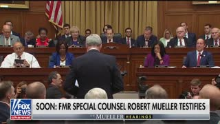 Hearing Robert Mueller opening statement