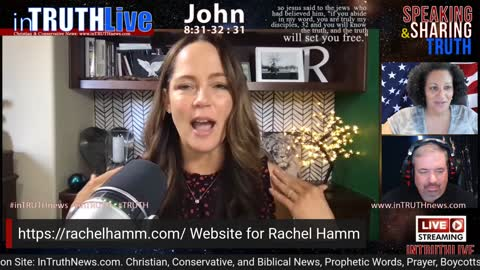 inTruth LIVE: Meet Rachel Hamm, Candidate for Secretary of State, CA. Tuesday, June 15th