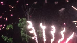 fireworks salute