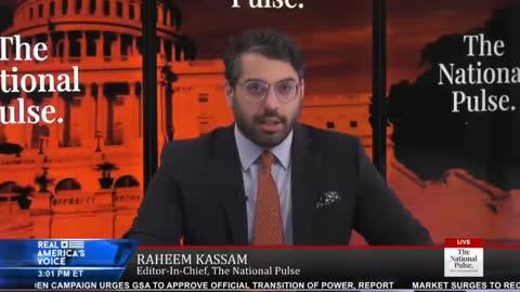 """JOE BIDEN IS NOT PRESIDENT"" - Raheem Kassam - Election is not Over - Election Fraud in America"