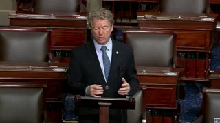 Rand Paul Goes OFF on Stimulus Bill, Destroys Republicans Too