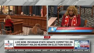 Dr. Linda Lee Tarver Gives Explosive Testimony During 12/1 Michigan Hearing on Election Fraud