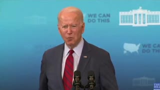 """BIDEN: """"Latinx"""" people aren't getting vaccinated because they're scared they'll be deported"""