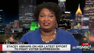 Abrams: I Support Abolishing the Electoral College