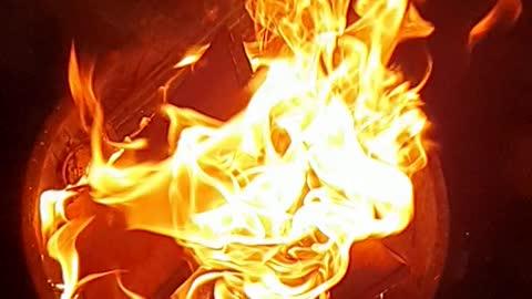 Fire slow Motion HD