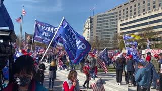 Million MAGA March: Washington, D.C., November 14, 2020