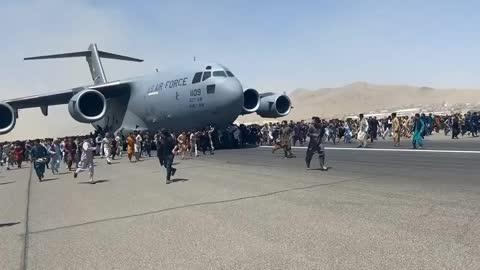 Kabul Afghanistan - Absolute Biden Disaster