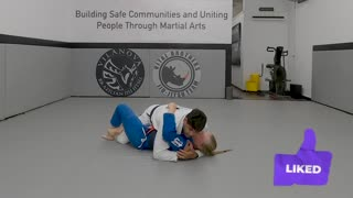 Technique of the Day - Half Guard Pass to Full Mount