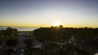 Good morning, with Amazing sunrise