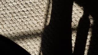 Shadow casting carpet