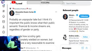 AOC tweets about public pay transparency. Here's what you dont know...