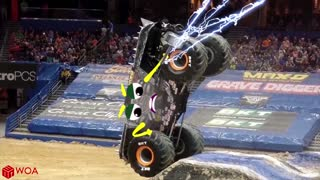 Monster Truck Freestyle Moments