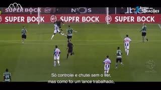 Marega e o golo ao Sporting - Vencedores como nunca